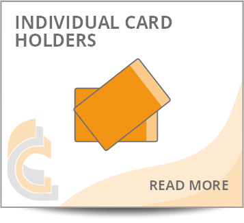 Individual Card Holder - Click here to read more